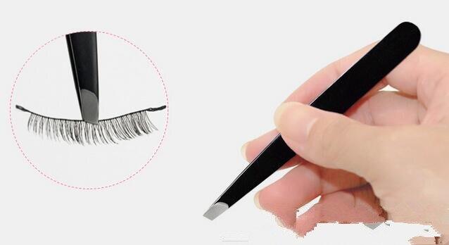 New Arrive Women Lady Eyebrow Eye Brow Tweezers Hair Removal Stainless Steel Beauty Slant Tip Makeup Tool