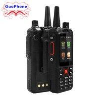 F22 Walkie Talkie Smartphone IP68 Waterproof 3G GPS WIFI Dual SIM 5MP Zello Walkie Talk Android Rugged Smartphone