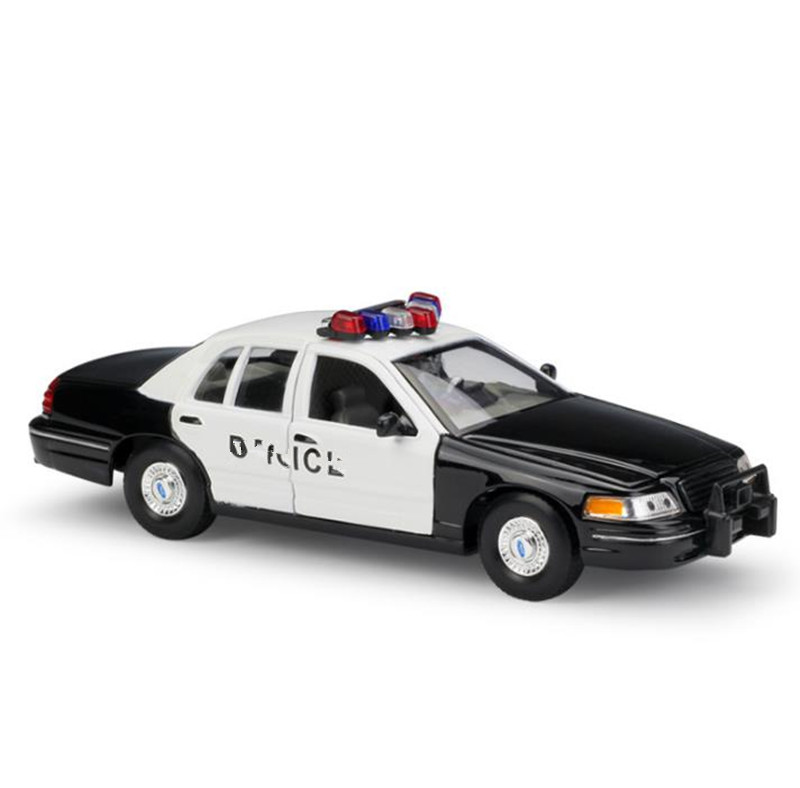 1:24 Ford Crown swat cop car advanced alloy car toy,diecast metal model,2 open doors toy vehicle,collection model free shipping