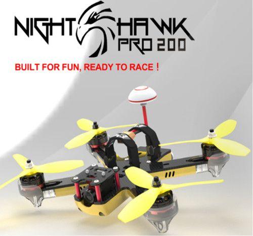 Emax Nighthawk Pro 200 200mm F3 FPV Racing Drone PNP with 5.8G 48CH 25-200mW VTX 600TVL CCD Camera (2)