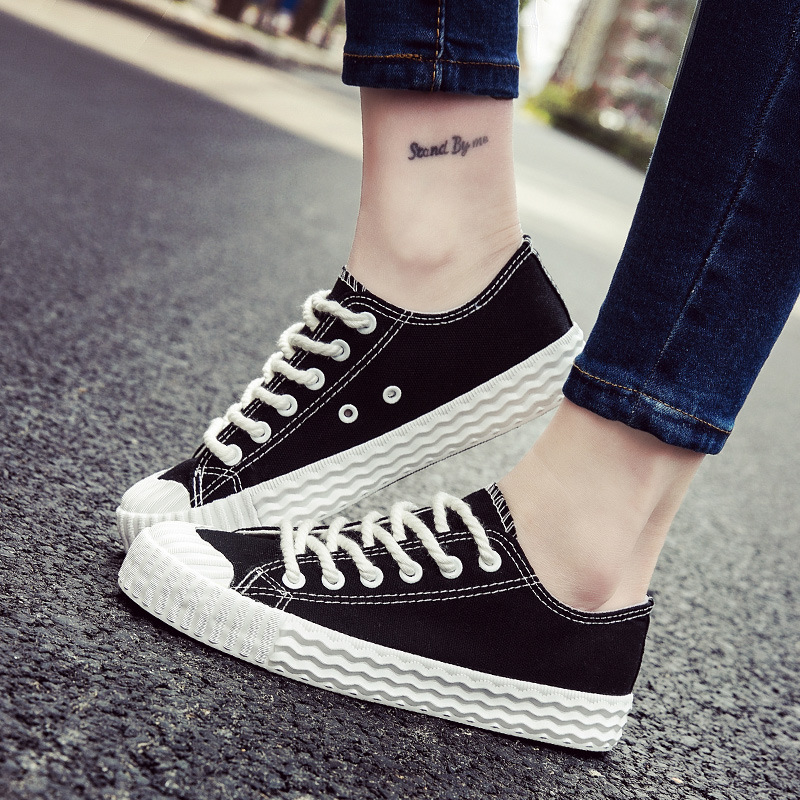 Women Canvas Shoes Woman Casual Shoes Summer Autumn Flats White Yellow Black Breathable Ladies Trainers 2017 Tenis Feminino vintage embroidery women flats chinese floral canvas embroidered shoes national old beijing cloth single dance soft flats
