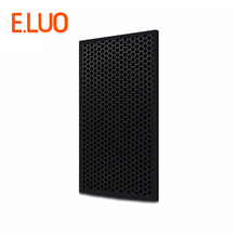 цена на 395*216*6mm high efficiency  hepa filter cleaner parts activated carbon filter composite air purifier parts for F-JXH35C etc