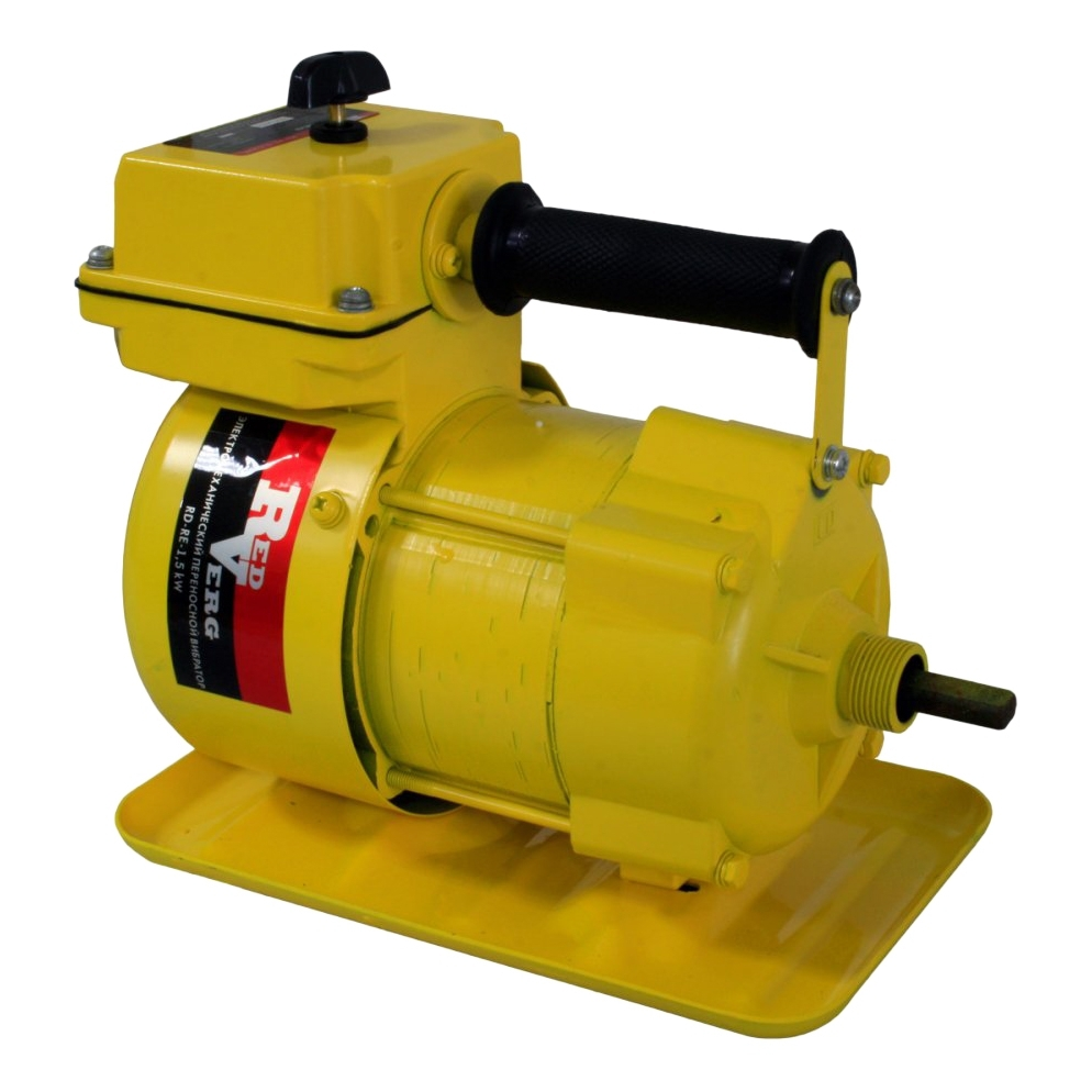 Vibrator for concrete portable RedVerg RD-RE-1, 5 kw (1500 W no-load speed 2850 rpm) hammer drill electric redverg rd rh1500 power 1500 w drilling in concrete to 36mm антивибрационная system