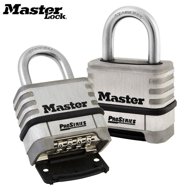 Master Lock Ampla Aço Laminado Warded Cadeado Anti-roubo, À Prova D' Água, sem vesícula biliar camada casa dormitório cadeado de bloqueio ao ar livre