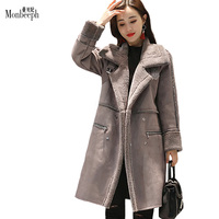 Plus Cashmere Thicken Jacket Cardigan Women Coat Winter Casual Jackets Cashmere Wool Blends Coats