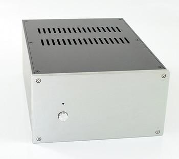 WA124 Aluminum enclosure Preamp chassis Power amplifier case/box size 308*220*121mm
