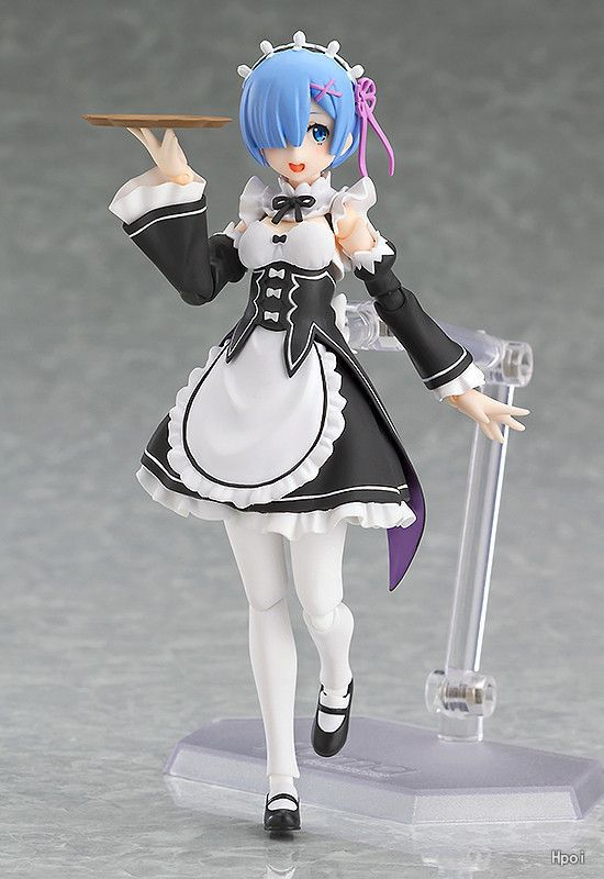 Anime Re:Life in a different world from zero Rem Figma 346 PVC Action Figure Collectible Model Toys Doll 13cm 23cm re life in a different world from zero rem action figure wedding dress ver rem pvc figure toy brinquedos