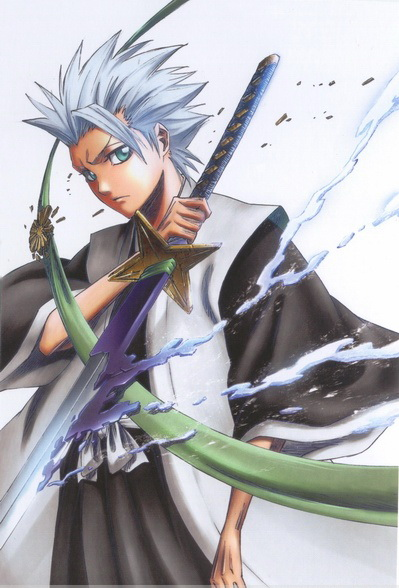 US $7 91 28% OFF|Bleach Anime Toshiro 35*25CM Wall Scroll Poster #28594-in  Flags, Banners & Accessories from Home & Garden on Aliexpress com | Alibaba