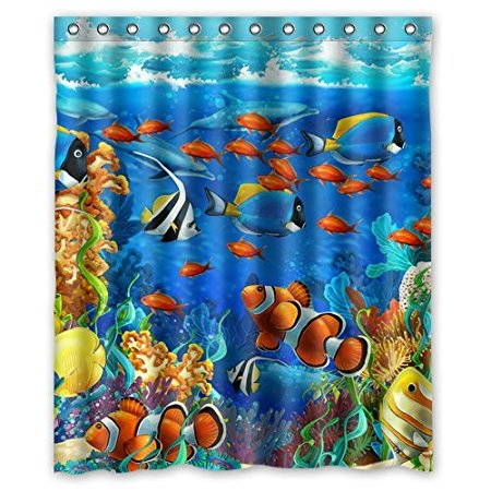 Online Buy Wholesale coral shower curtain from China coral shower ...