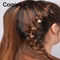 New fashion zinc alloy stars hands accessories charm women hairpins headband mujer hair jewelry headpiece feminina hairpin