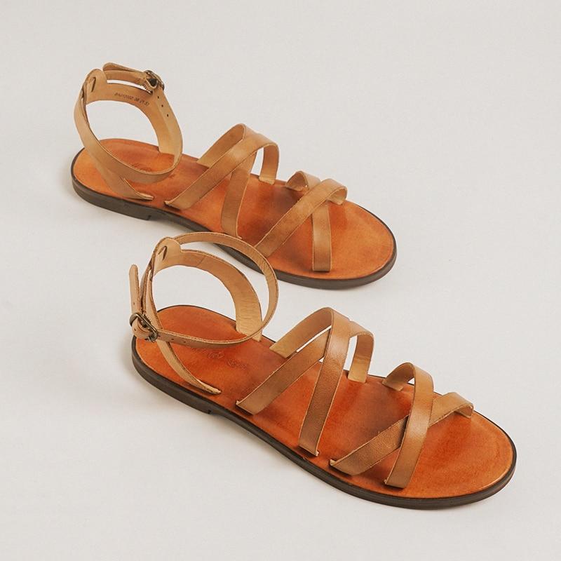 vintage leather  women falts shoes women sandals roma sandals gladiator sandals retro summer shoesvintage leather  women falts shoes women sandals roma sandals gladiator sandals retro summer shoes