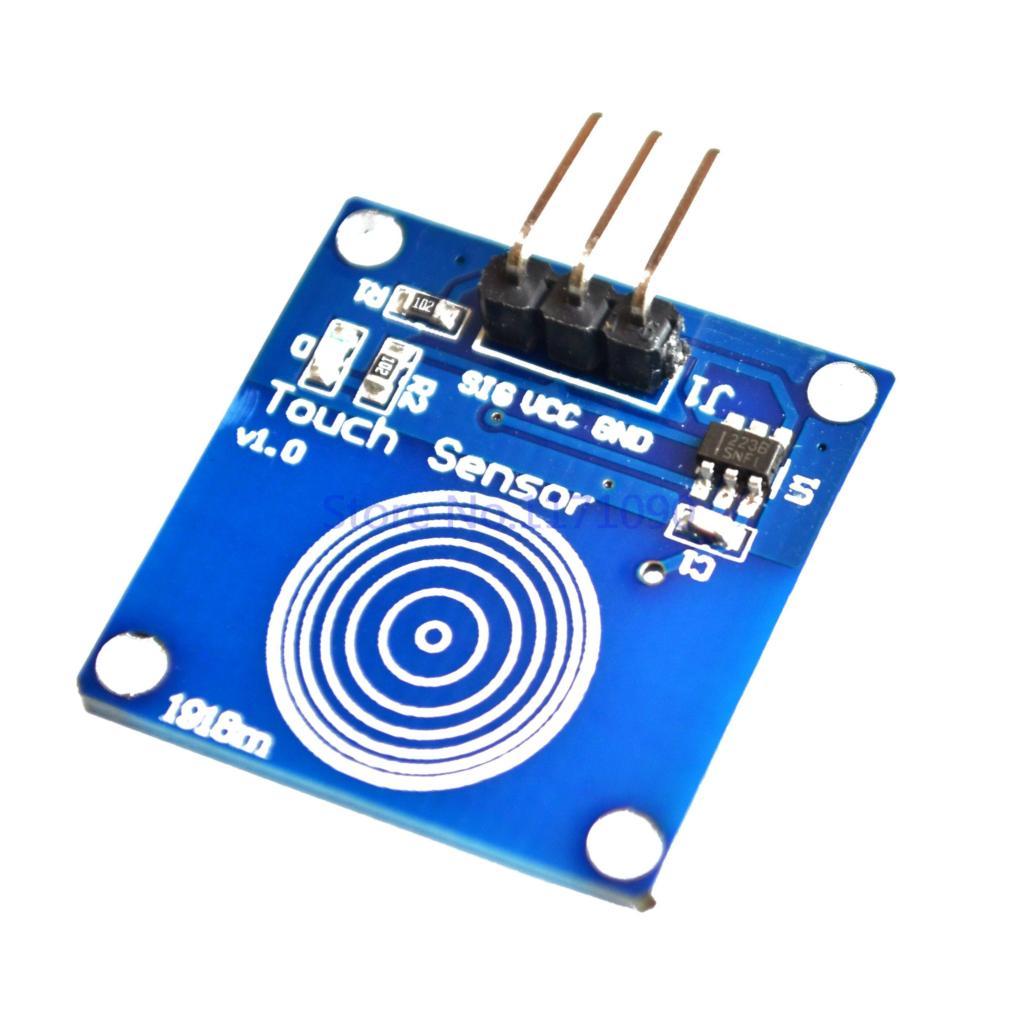 Jog digital touch sensor capacitive switch