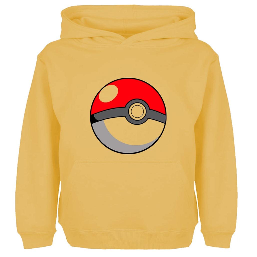 Japanese Classic Anime Pikachu Pokemon Poke Ball PokeBall Print Hoodie Men Women Boy Girl Cartoon Hoody Sweatshirt Winter Jacket