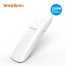 Tenda U12 1300 Мбит/с Беспроводной USB Сетевые карты, AC Dual-Band 2.4 г/5.0 ГГц сети WiFi USB адаптер, USB 3.0, гигабитный маршрутизатор партнер