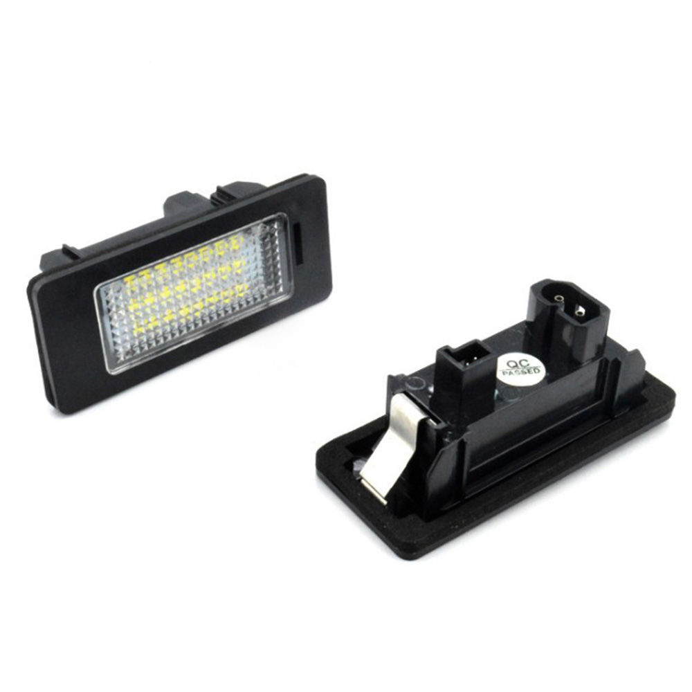 2 Pcs LED Car Lights For BMW e60 Number Plate License Light Lamp for BMW E39 M5 E5 E90 E90 E92 E93 E70 E71 X5 X6 M3 стоимость