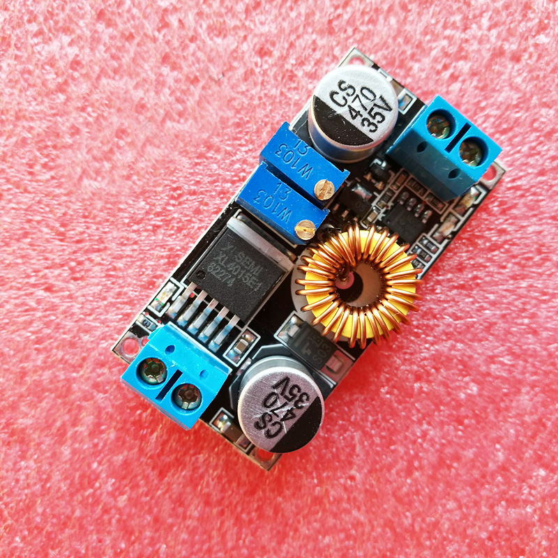 Новый 1 шт. 5A DC CC CV литиевых Батарея Шаг вниз зарядки <font><b>LED</b></font> Мощность конвертер литиевых Зарядное устройство Шаг Пух модуль P00