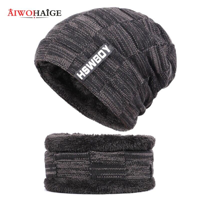 Мужские шапки-бини, вязаные шапки-маски, Теплые Мешковатые Зимние головные уборы для мужчин и женщин, шапки-бини, зима 2019