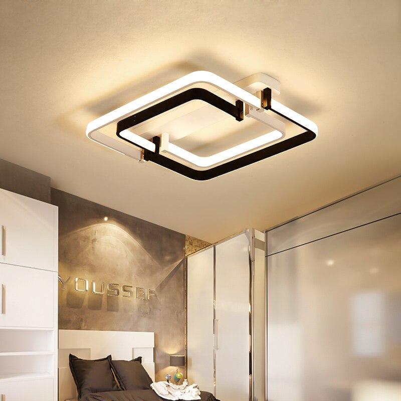 US $114.61 27% OFF|Chandelierrec Moderne Led deckenleuchten Für Wohnzimmer  Schlafzimmer Decor Overhead Beleuchtung Decke Lampe plexiglas decke ...