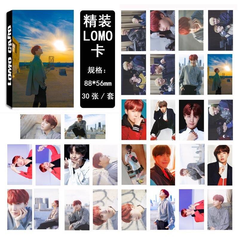 [MYKPOP]BTS DICON #5 J-HOPE Photo Album LOMO Cards Paper Photo Card HD Photocard SA180051002