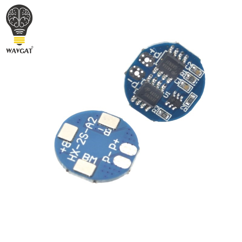 <font><b>2S</b></font> 5A Li-ion Lithium <font><b>Battery</b></font> 7.4v 8.4V <font><b>18650</b></font> Charger Protection Board bms pcm for li-ion lipo <font><b>battery</b></font> cell <font><b>pack</b></font> image