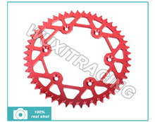High Performance ALU 520 46T 47T 48T 49T 50T 51T 52T Rear Sprockets For HONDA CRF 150 XL 200 XR 200 FMX 650 NX 650 Dominator