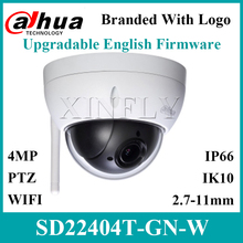 Dahua Original SD22404T GN W With Logo 4MP 4x PTZ Wi Fi Network Camera Replace SD22204T GN SD22404T GN SD29204T GN