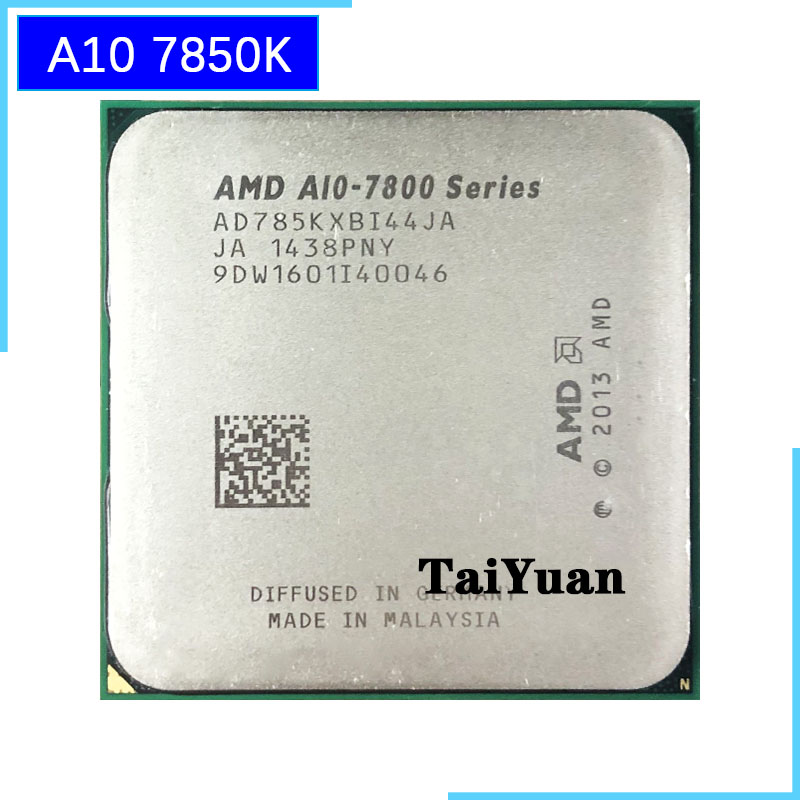 AMD CPU A10-7850K Quad-Core Ghz A10-Series Processor-Ad785kxbi44ja/ad785bxbi44ja-Socket
