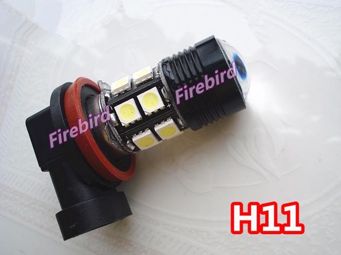 2 х h11 7 вт мощность холодный белый светодиодные противотуманные фары, противотуманные фары, дневные ходовые огни для автомобиля dc12v, бесплатная доставка