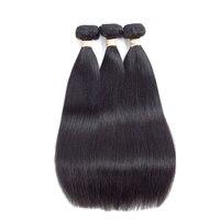 Beaudiva Malaysian Straight Hair Extensions 100 Human Hair Malaysian Hair Weave Bundles Straight Hair 3 PCS