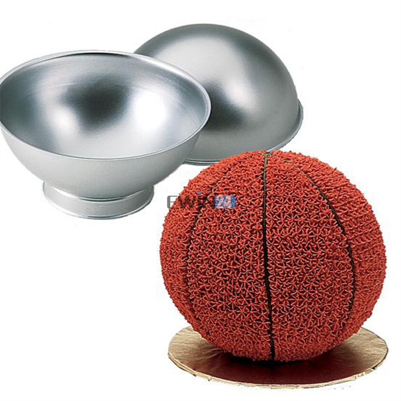 ball cake pan 1 x sports set create 3d birthday cake mould tennis 1460