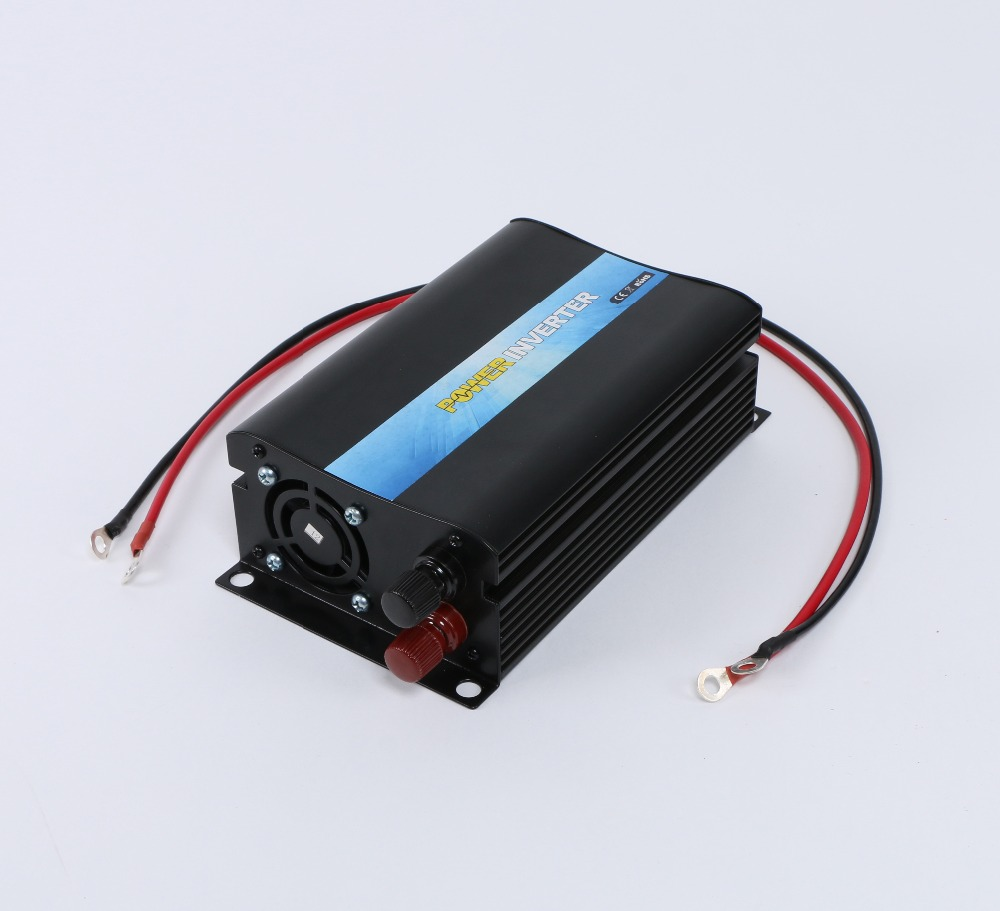 цена на Brand New High Quality 600W Pure Sine Wave DC 24V to AC 220V 50 Hz Power Inverter One Year Warranty