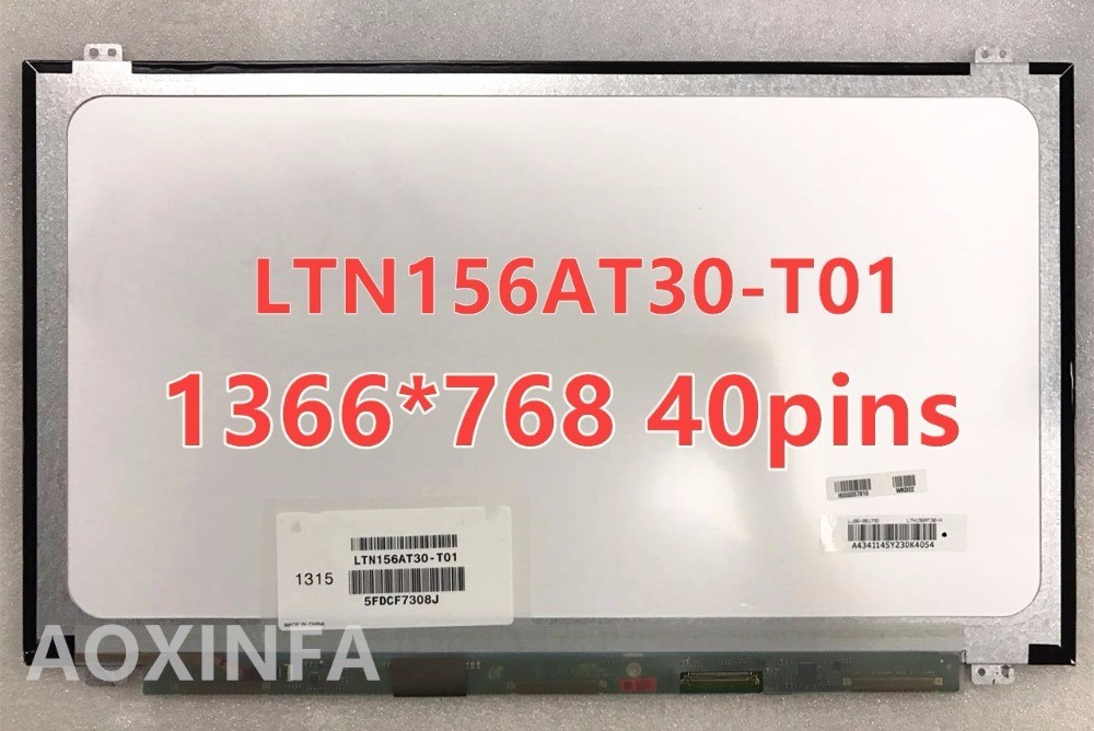 Free shipping B156XW04 V.5 B156XW04 V.6 LP156WHB TLA1 LP156WH3 TLS1 N156BGE-L31 N156BGE-L41 LTN156AT20 LTN156AT30 40PIN LCD SCR sep motorcycle accessories carbon fiber engine sprocket chain case cover clutch cover for yamaha mt09 fz09 tracer fj09 2014 2017