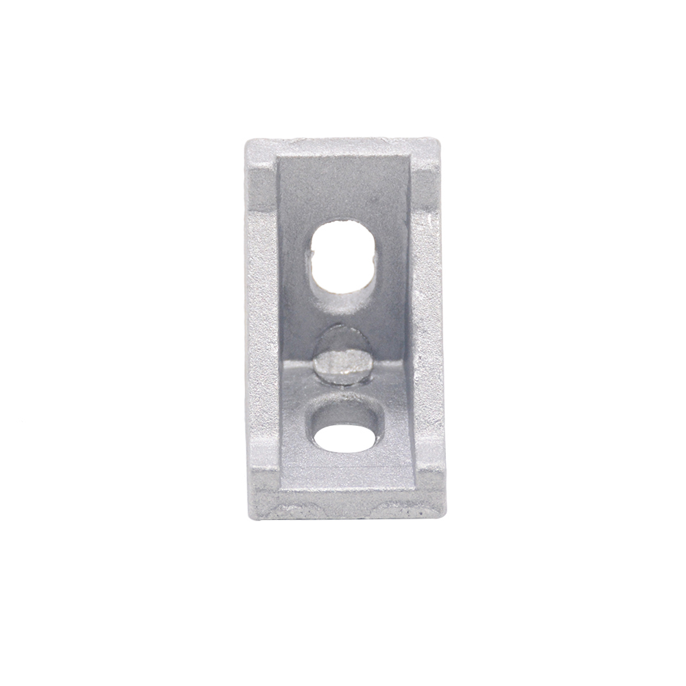 cheapest HOTSale 20pcs 2028 corner fitting angle aluminum 20 x 28 L connector bracket fastener match use 2020 industrial aluminum profile