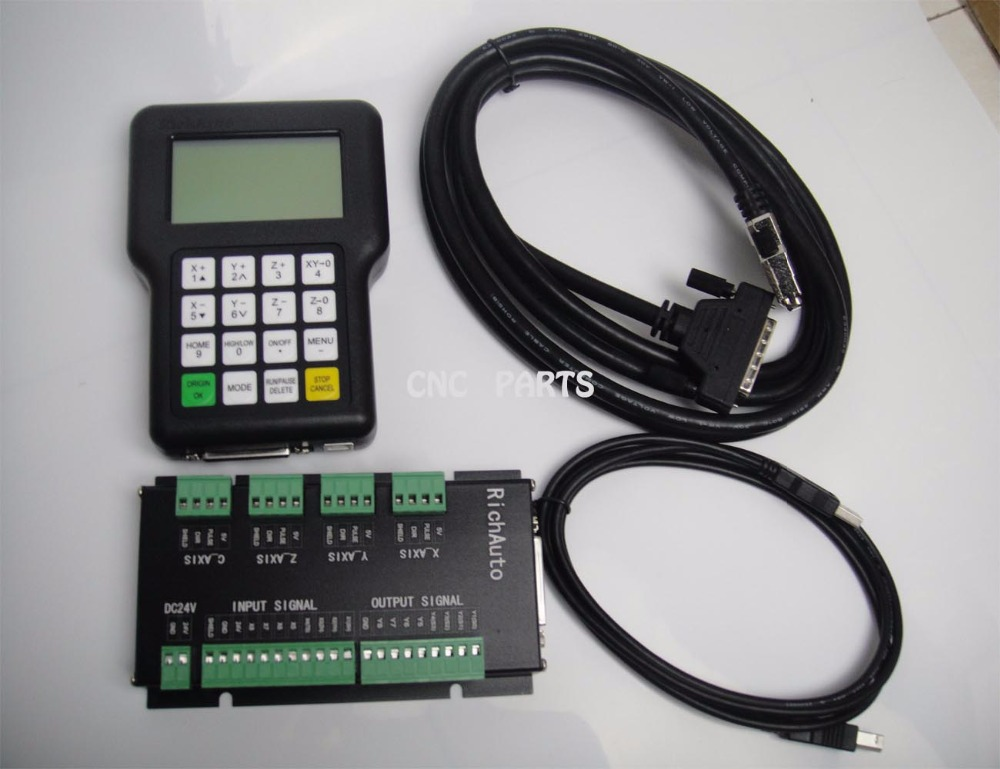 Système de contrôle de mouvement CNC 4 axes DSP richauto marque A18