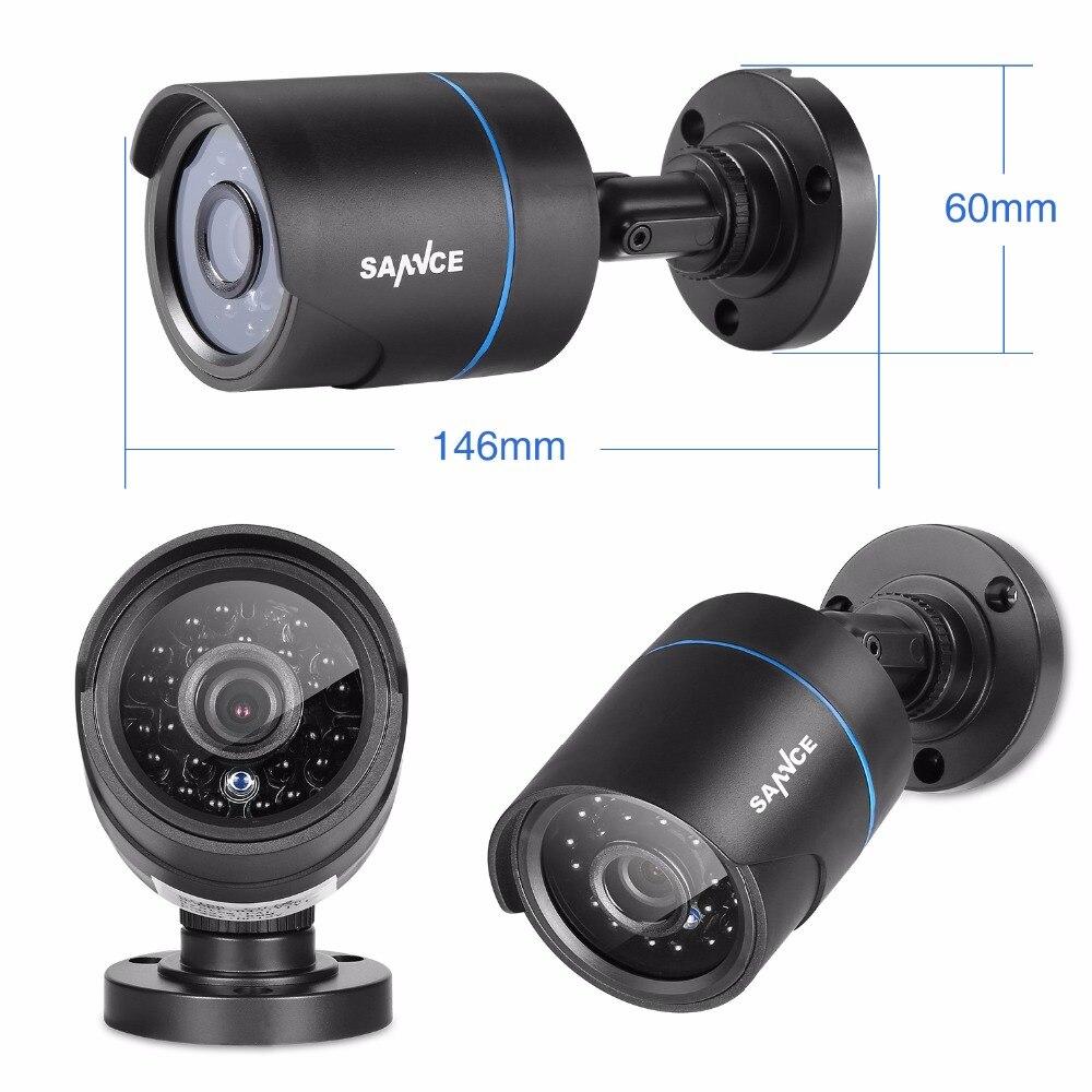 SANNCE 720P Surveillance System 4-Kanal-DVR mit integriertem - Schutz und Sicherheit - Foto 5
