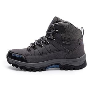 Image 5 - סופר חם גברים חורף מגפי זמש באיכות עור גברים מגפי פרווה בפלאש שלג מגפי חורף נעלי גברים חיצוני מגפיים נעליים