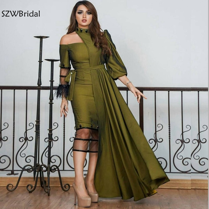 New Arrival Taffeta Dubai Kaftan   Evening     dress   2019 prom   dresses   abiye abendkleider Arabic   Evening   gown Abiye Formal   dress   party