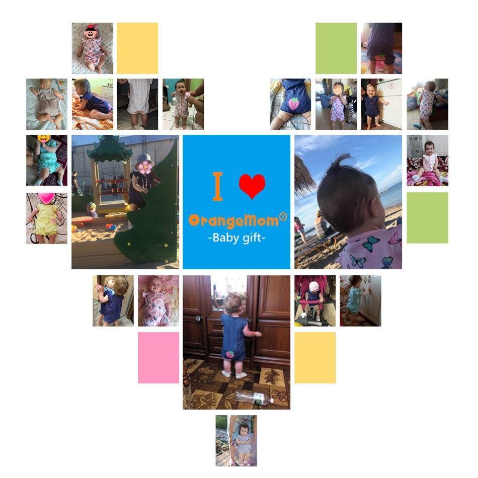 2019орангемом летна девојчица одећа - Одећа за бебе - Фотографија 5