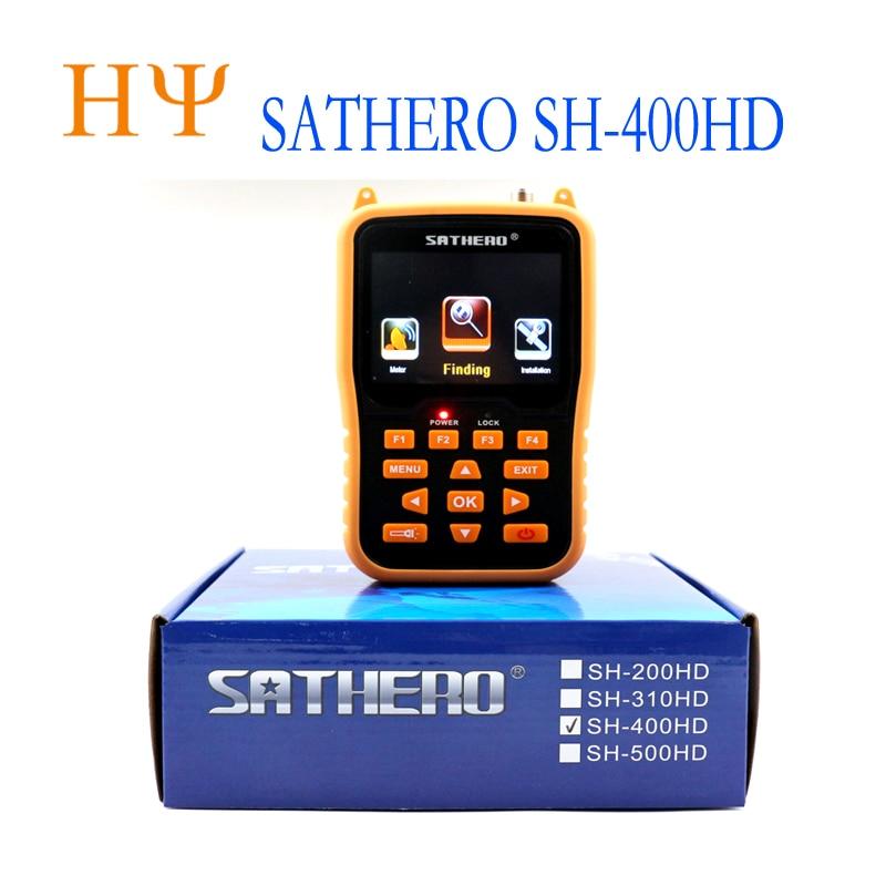 sathero SH-400HD 3.5 inch LCD Screen DVB-S2 & DVB-S Signal Finder Support 8PSK 16APSK Digital Meter Sathero 400HD sathero sh 110hd dvb t dvb t2 lcd screen pocket digital terrestrial finder support qpsk signal meter digtal meter vs sh110hd