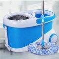 Hogar cubeta giratoria mop presión de la mano para arrastrar rápido giro seco trapear el piso herramientas de limpieza del hogar