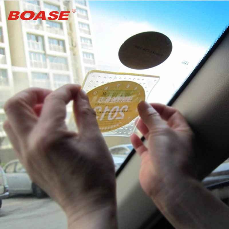 Multi-function Car Electrostatic Front Mark Post Free Shipping Free To Tear Yearly Check Of Car