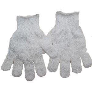 1pc Women Scrubber Body Massage Sponge Gloves Practical Bath Shower Glove Body Wash Shower Gel Exfoliating Accessories 2