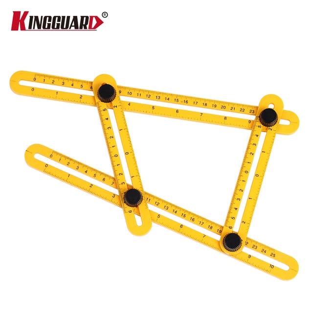 KINGGUARD Angle izer Template Tool Four sided Measuring Tool Angle - angle template