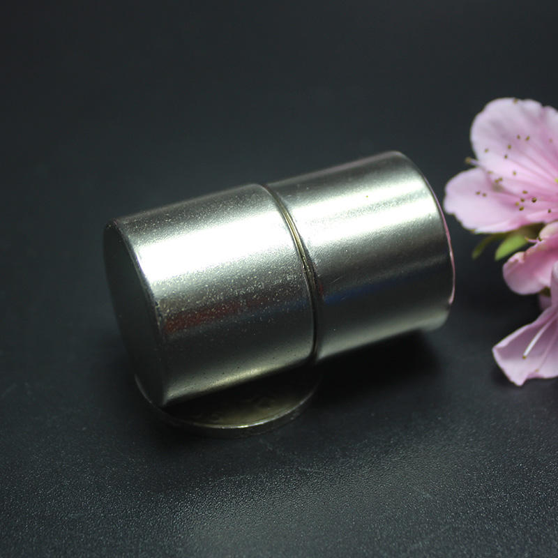1 pcs 25x20mm N35 Super Fort Puissant Rond Cylindre Magnets Rare Earth Néodyme Magent 25x20mm
