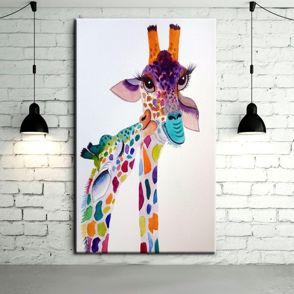Abstract Art Giraffe