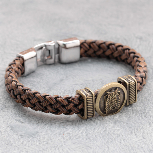 Attack On Titan Hand-rope Bracelet