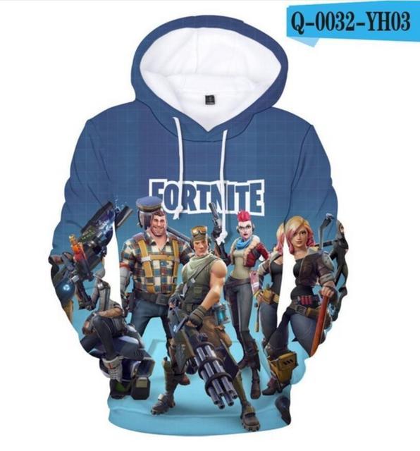 Hoodies 3D Game Men/Women Sweatshirt male Boys/Girls Battle Royale Hooded Pullover sweatershirts sudaderas hood hoddie