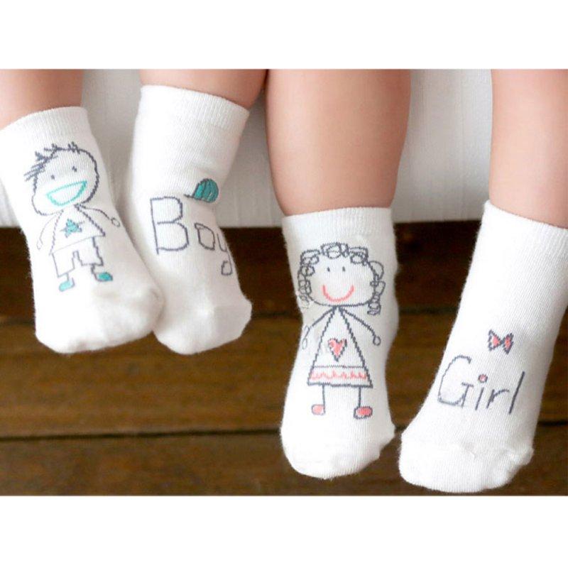 Newborn Infant Baby Anti Slip Socks Soft Non-slip Boot Cuff Slippers Socks Baby Infant Kids Foot Socks