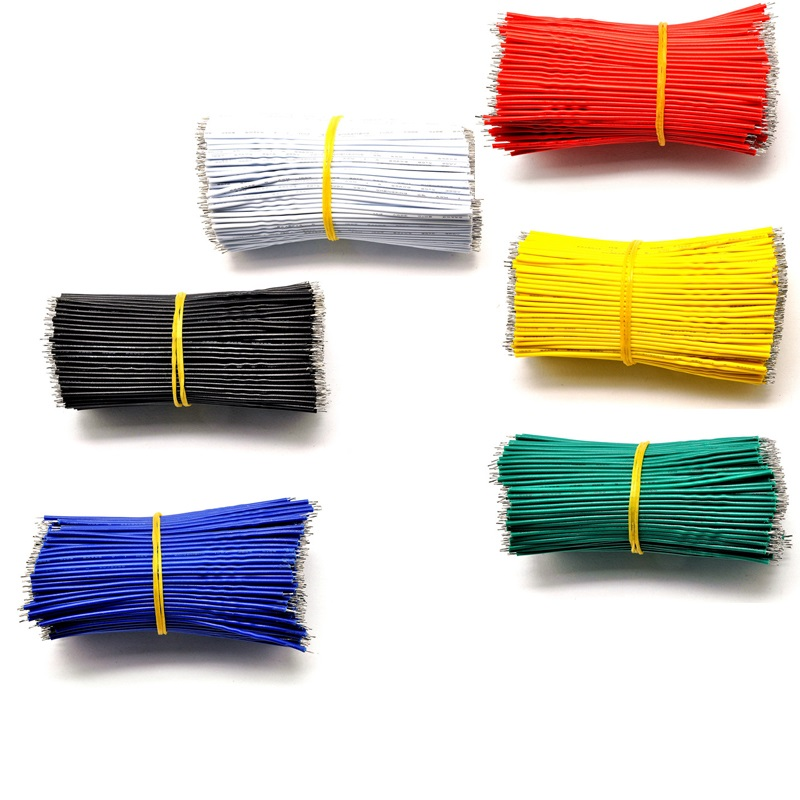 Tin-Plated Breadboard PCB Solder Cable 22AWG 10cm 15cm 20cm 30cm Jumper Wire Cable Tin Conductor Wires 1007-22AWG Connector Wire breadboard jumper wires for arduino works with official arduino boards 8 20cm 68 cable pack