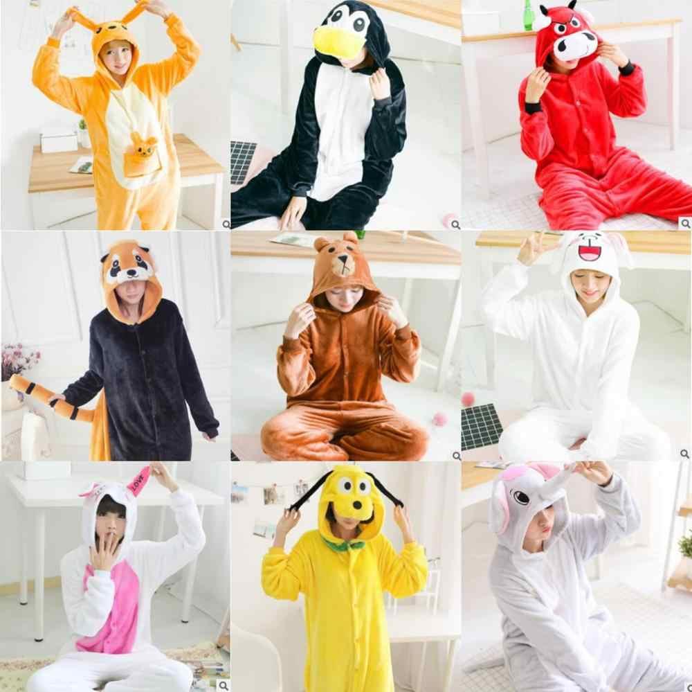3c9c18f96 Los hombres y las mujeres mono traje de monstruo Sullivan oso marrón  conejito pijama de traje